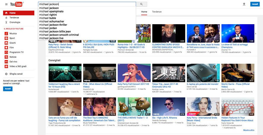 keyword-youtube