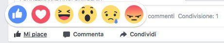 interazione facebook