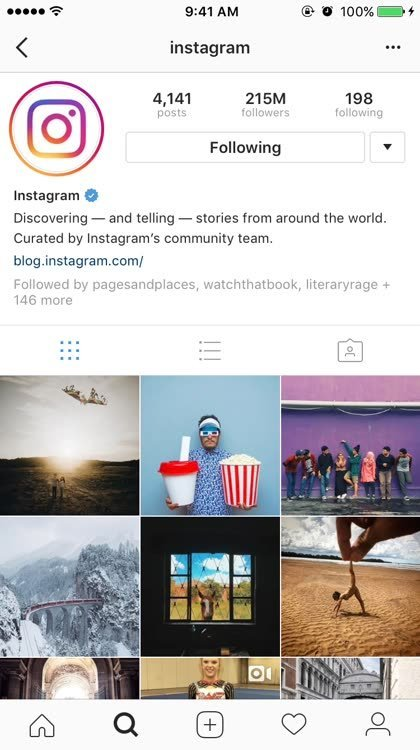 condividere foto Instagram