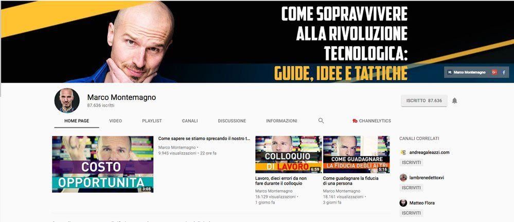 successo YouTube