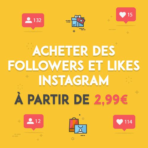 acheter des followers instagram