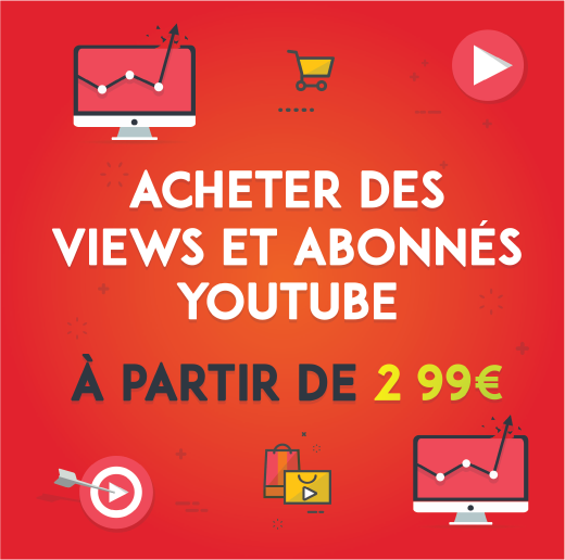 achat abonnes youtube
