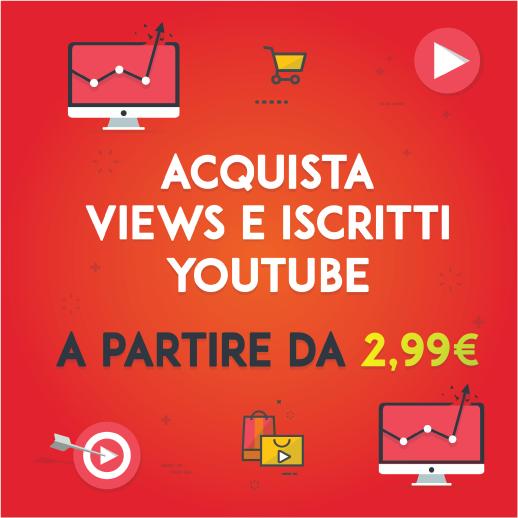 compra visualizzazioni youtube